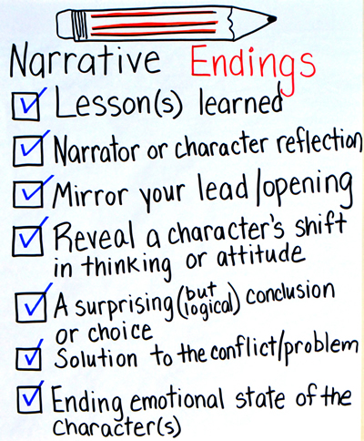 Strong essay endings examples
